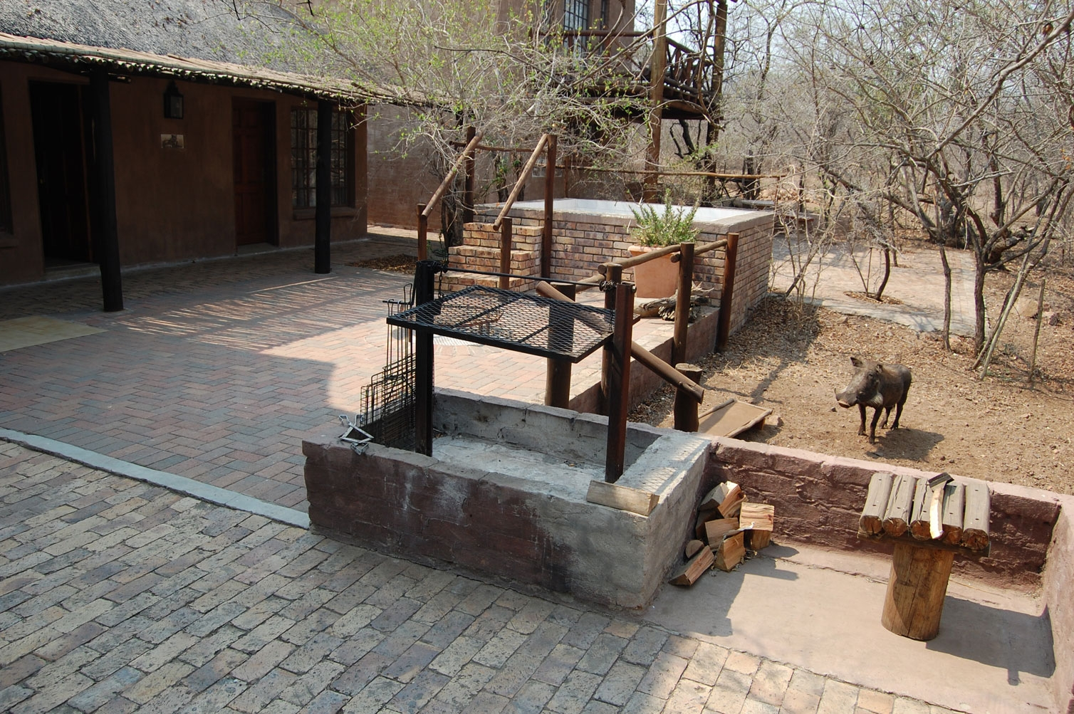 Braai / Barbeque area